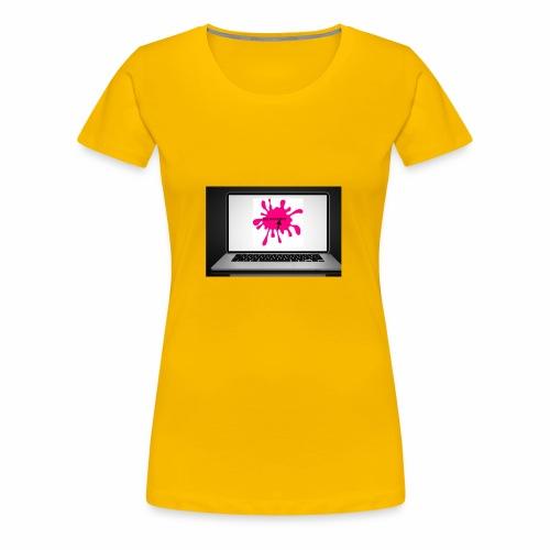 Squeeksterz pillow case - Women's Premium T-Shirt