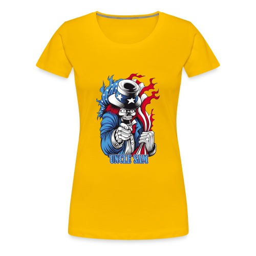 Uncle Sam (united state) - Women's Premium T-Shirt