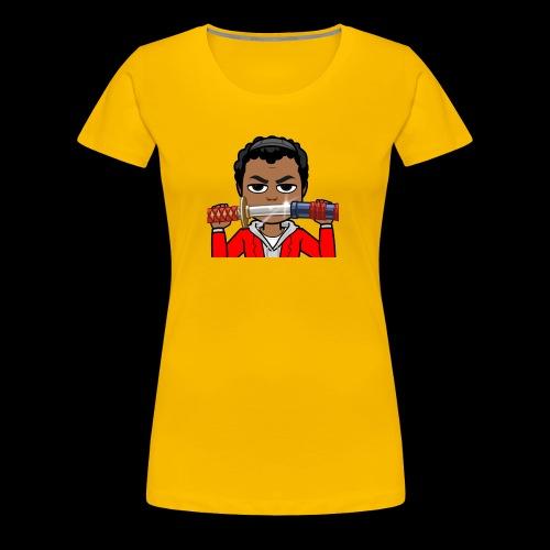 Cartoon Temmy - Women's Premium T-Shirt