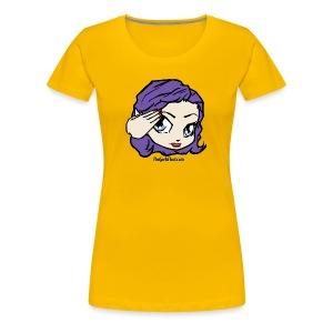 Salute the Fleet! - Women's Premium T-Shirt
