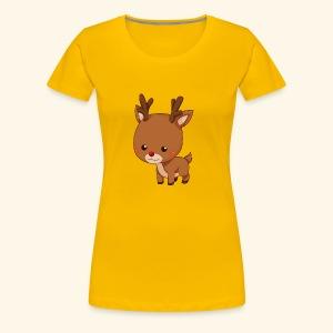 holiday reindeer - Women's Premium T-Shirt