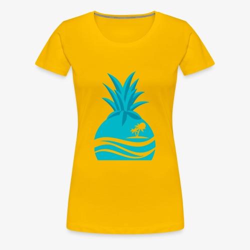 Island Pineapple - Women's Premium T-Shirt