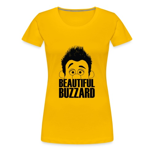 Puppet Phil - Beautiful Buzzard - Women's Premium T-Shirt