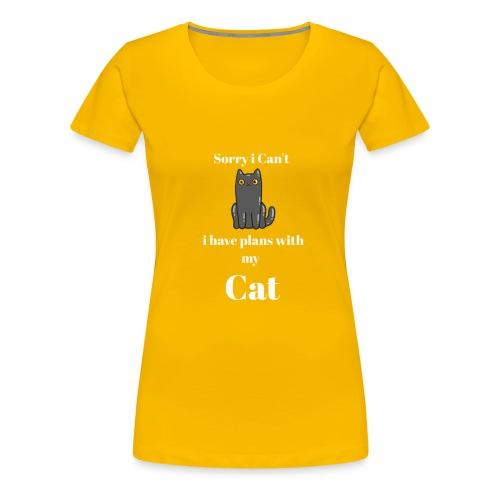 Describe You are a Cat Lover T Shirt - Women's Premium T-Shirt