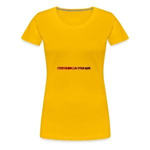 CrimsonJayhawk - Women's Premium T-Shirt