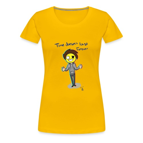Time - Women's Premium T-Shirt