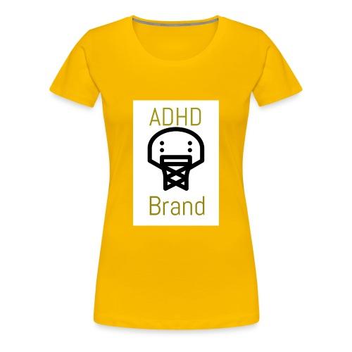 ADHD BRAND - Women's Premium T-Shirt
