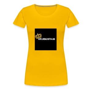 Exploring - Women's Premium T-Shirt