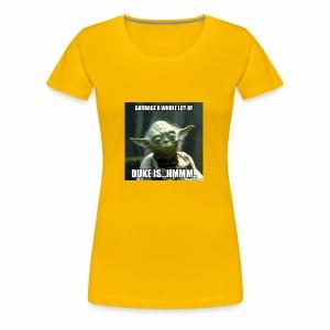 Duke is Garbage - Women's Premium T-Shirt