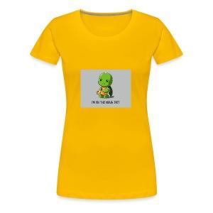 Ninja Diet - Women's Premium T-Shirt