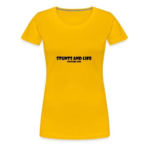 stunts and life - Women's Premium T-Shirt