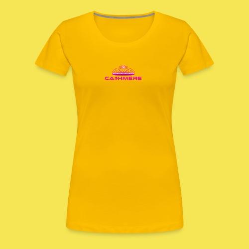 Ca$hmere Blocked - Women's Premium T-Shirt