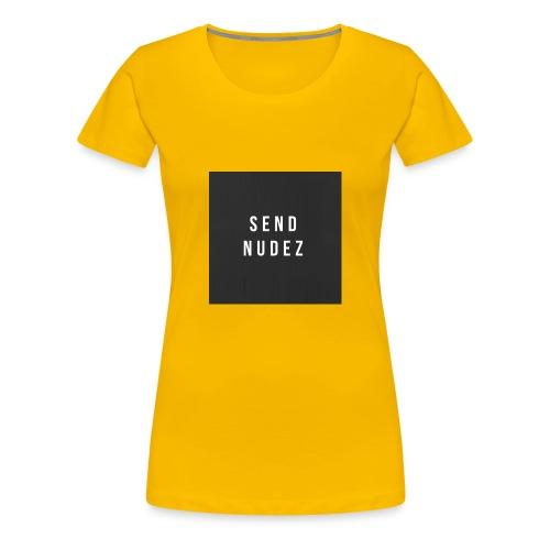SendNudez - Women's Premium T-Shirt
