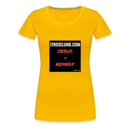 JTRoselund.com Merchandise - Women's Premium T-Shirt