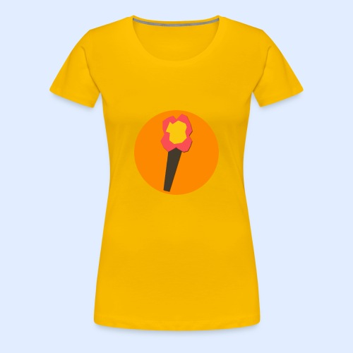 NeoMc Redstone Torch Design - Women's Premium T-Shirt