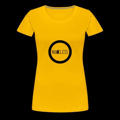 Plain Nameless Logo - Women's Premium T-Shirt