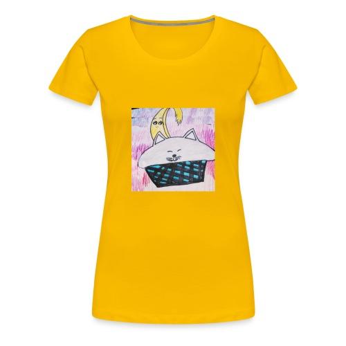 Bananacat adventures - Women's Premium T-Shirt