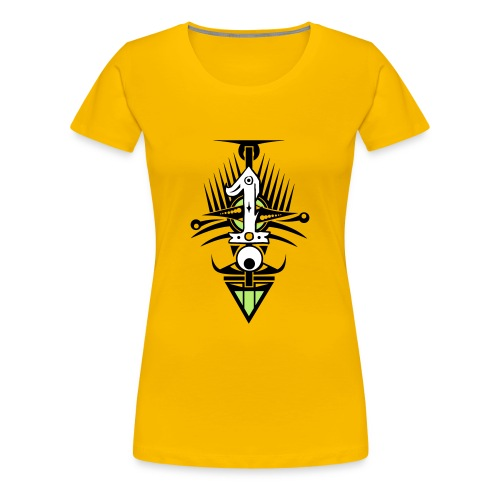 NUMBER ONE - Women's Premium T-Shirt