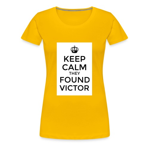 Found Victor - T-Shirt - Women's Premium T-Shirt