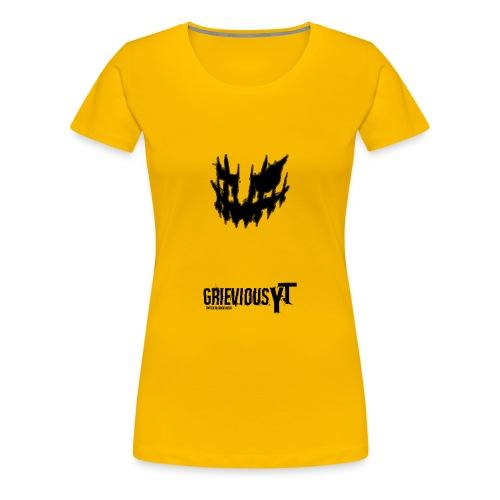 GrieviousYT T-shirt 1 - Women's Premium T-Shirt