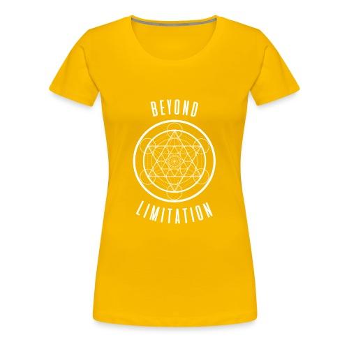 BeyondLimitation White - Women's Premium T-Shirt