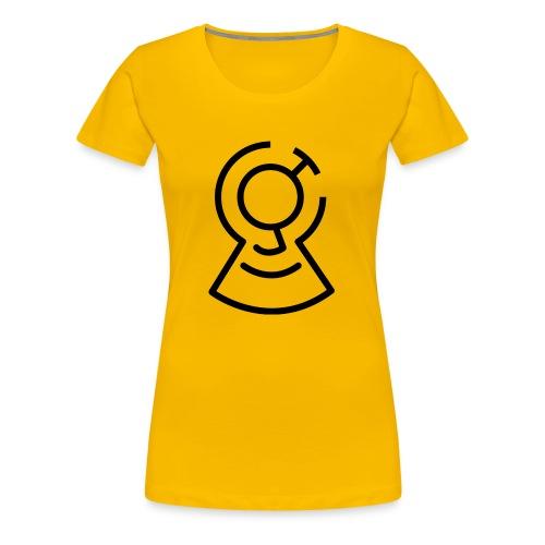 Brainimations Logo Black - Women's Premium T-Shirt