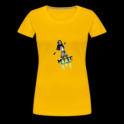 MYSE Clothing - badass babe - Women's Premium T-Shirt