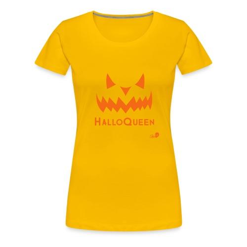 HalloQueen - Women's Premium T-Shirt