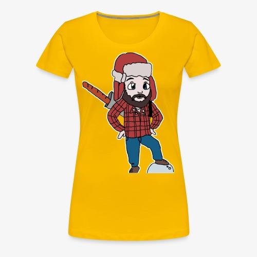 LumberTeeg - Women's Premium T-Shirt
