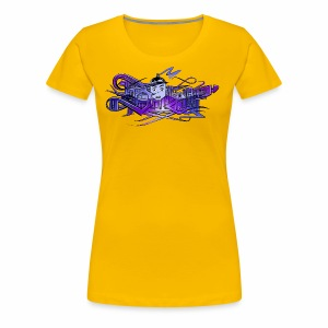 Step WildStyle Too - Women's Premium T-Shirt