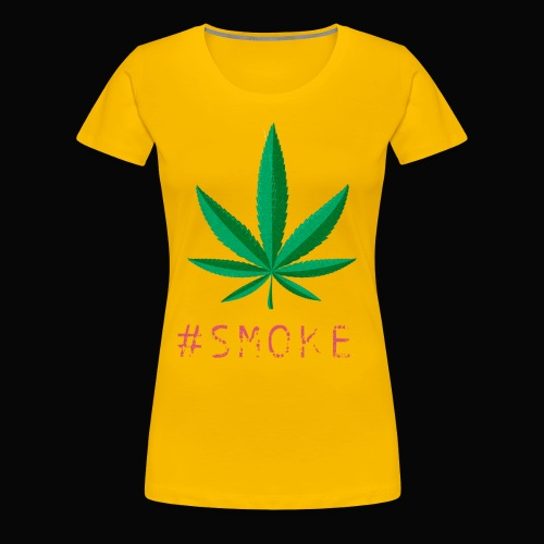 #SMOKE - Women's Premium T-Shirt