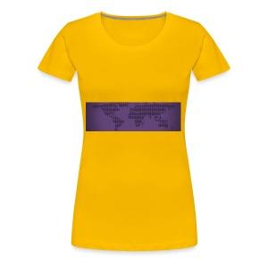 flat earth - Women's Premium T-Shirt