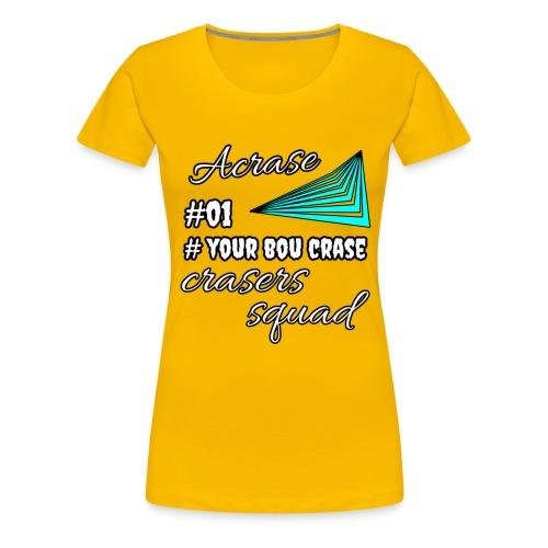 Acrase signature - Women's Premium T-Shirt