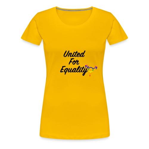 United For Equality Logo - Women's Premium T-Shirt