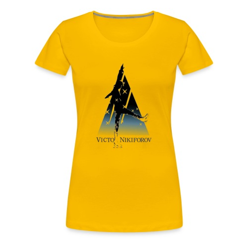 yuri on nice - Women's Premium T-Shirt