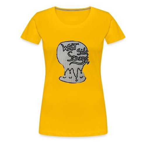 west side savage - Women's Premium T-Shirt
