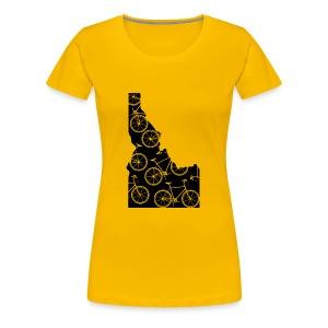 Idaho Bicycle - Women's Premium T-Shirt