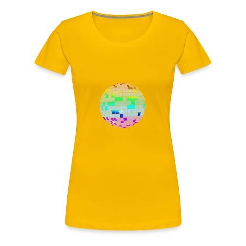 colorful disco ball - Women's Premium T-Shirt