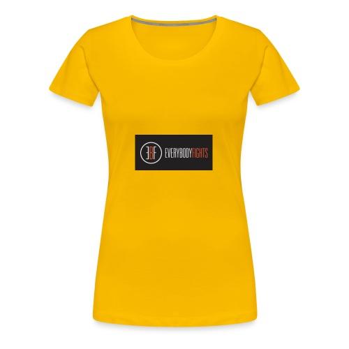EVERYBODYFIGHTS - Women's Premium T-Shirt