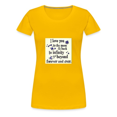 Love you infinity - Women's Premium T-Shirt