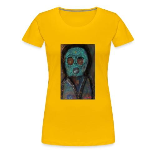 The galactic space monkey - Women's Premium T-Shirt