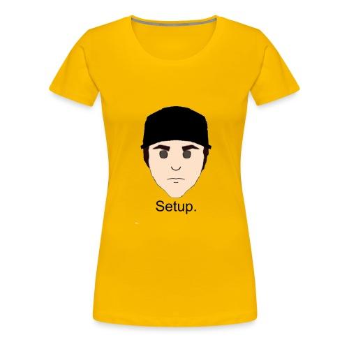Setup Sam Squared Merch - Women's Premium T-Shirt