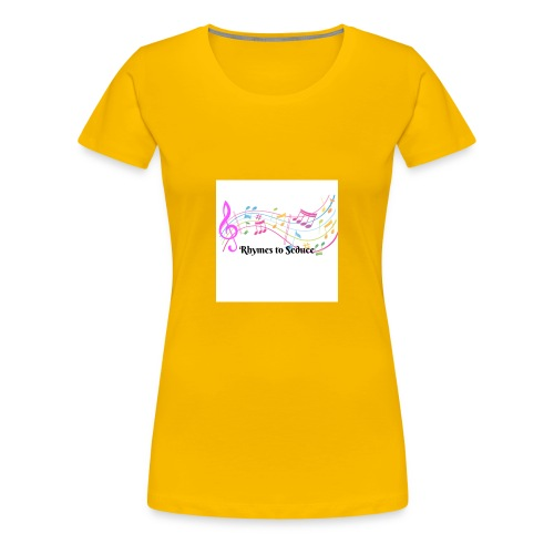 Rhymes to Seduce - Women's Premium T-Shirt