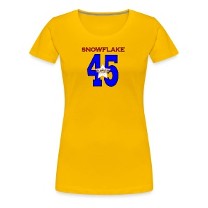 president SNOWFLAKE 45 - Women's Premium T-Shirt