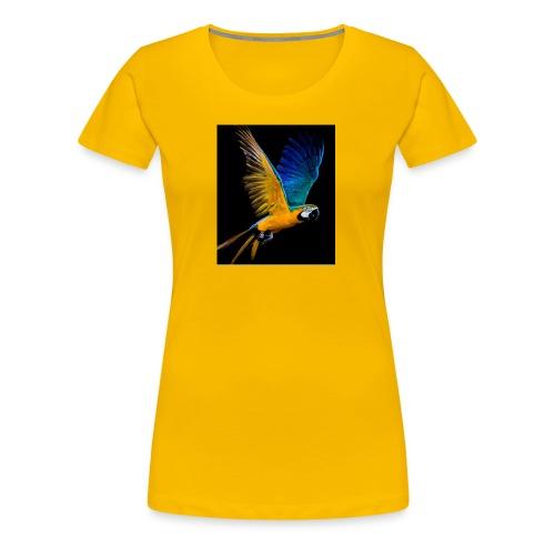 t-shirt clothes rack, parrot ,lory papagaio - Women's Premium T-Shirt