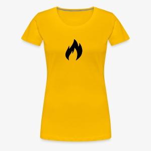 Fire Factor Black - Women's Premium T-Shirt