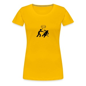 Off Me!!! - Women's Premium T-Shirt