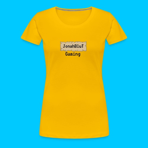 JonahBluT Gaming - Women's Premium T-Shirt