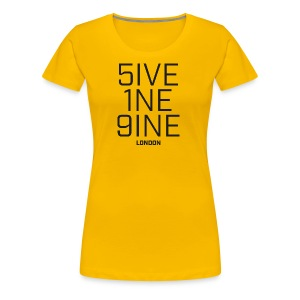 5IVE 1NE 9INE - Women's Premium T-Shirt