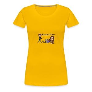 Sarah and Fam - Women's Premium T-Shirt